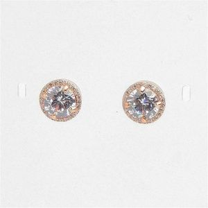 ★ New Henri Bendel Luxe Pave Halo Stud Earrings★